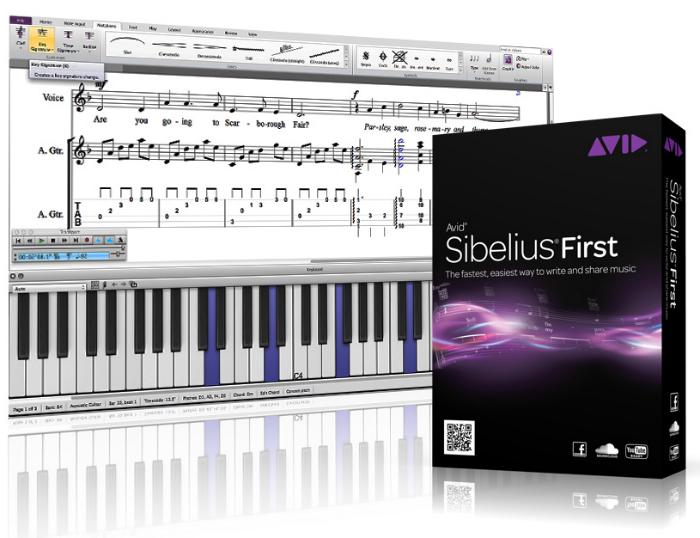 دانلود نرم افزار نت نویسی Avid Sibelius