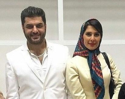 جدیدترین عکسهای سام درخشانی و همسرش عسل امیرپور