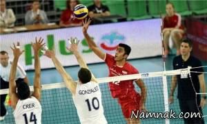 نتیجه بازی والیبال ایران و ایتالیا لیگ جهانی 12 تیر 95 + فیلم