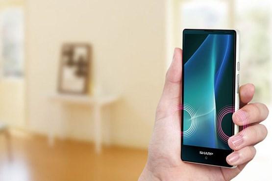 شارپ از گوشی هوشمند خود رونمایی کرد+عکس