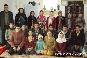 پدر پرجمعیت ترین خانواده ایرانی فوت کرد