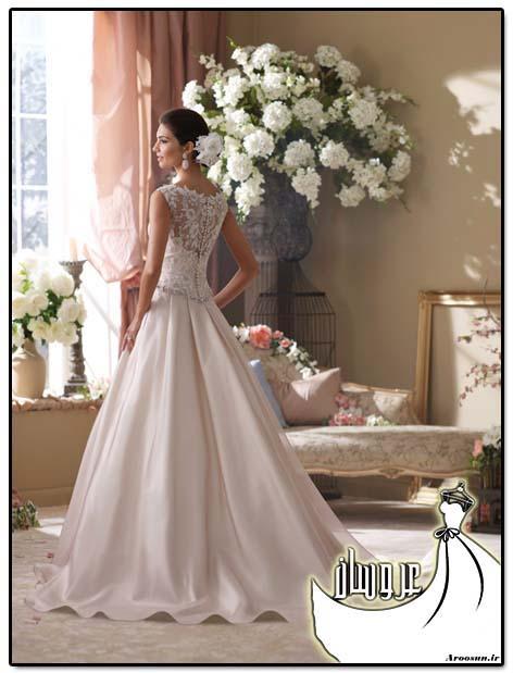 زیباترین مدل های لباس عروس دانتل