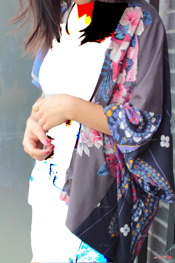 آموزش دوخت مانتو کیمونو راحتی بدون الگو