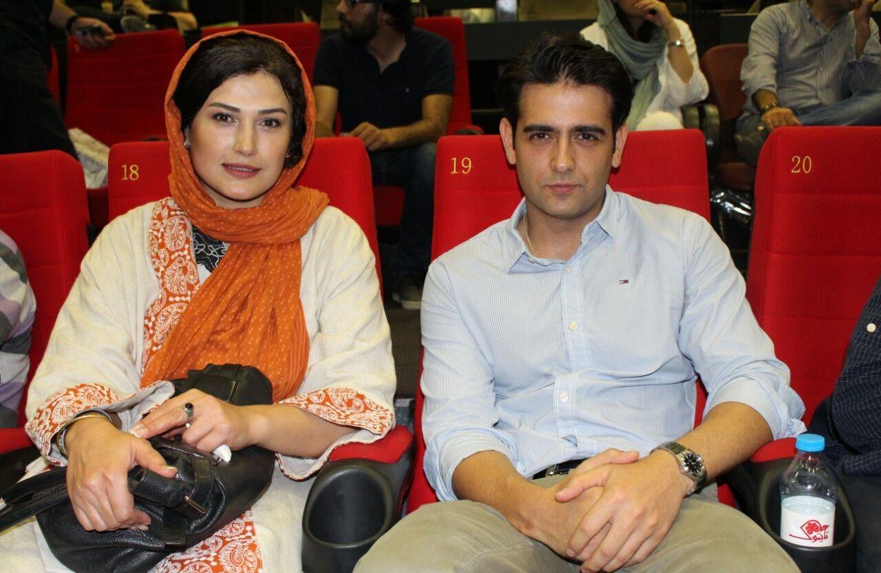 امیر حسین آرمان و لادن مستوفی در اکران خصوصی فیلم دراکولا