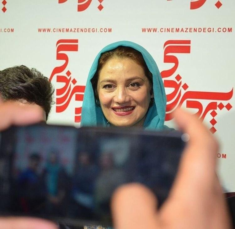 شبنم مقدمی در اکران مردمی فیلم زاپاس
