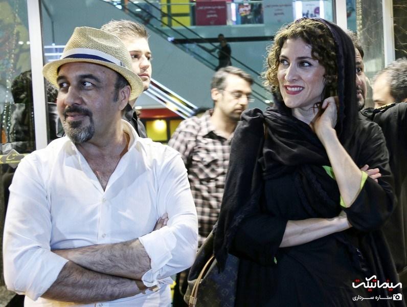 ویشکا آسایش و رضا عطاران در اکران خصوصی فیلم دراکولا