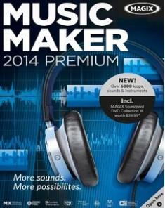 دانلود نرم افزار آهنگسازی حرفه ای - MAGIX Music Maker 2014 20.0.5.56
