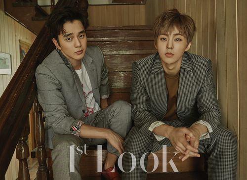 عکسای Yoo Seung Ho & Xiumin برای مجله ی   1st Look
