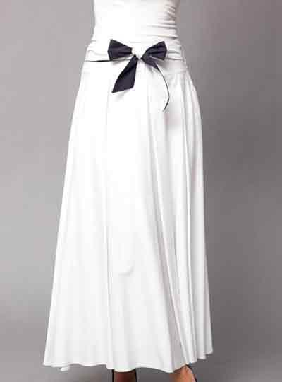 مدل دامن بلند دخترانه 95