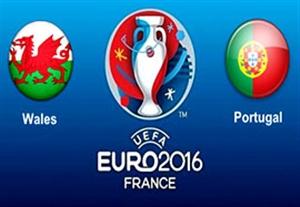 نتیجه بازی پرتغال و ولز 16 تیر 95 | یورو2016| خلاصه و گلها دیشب