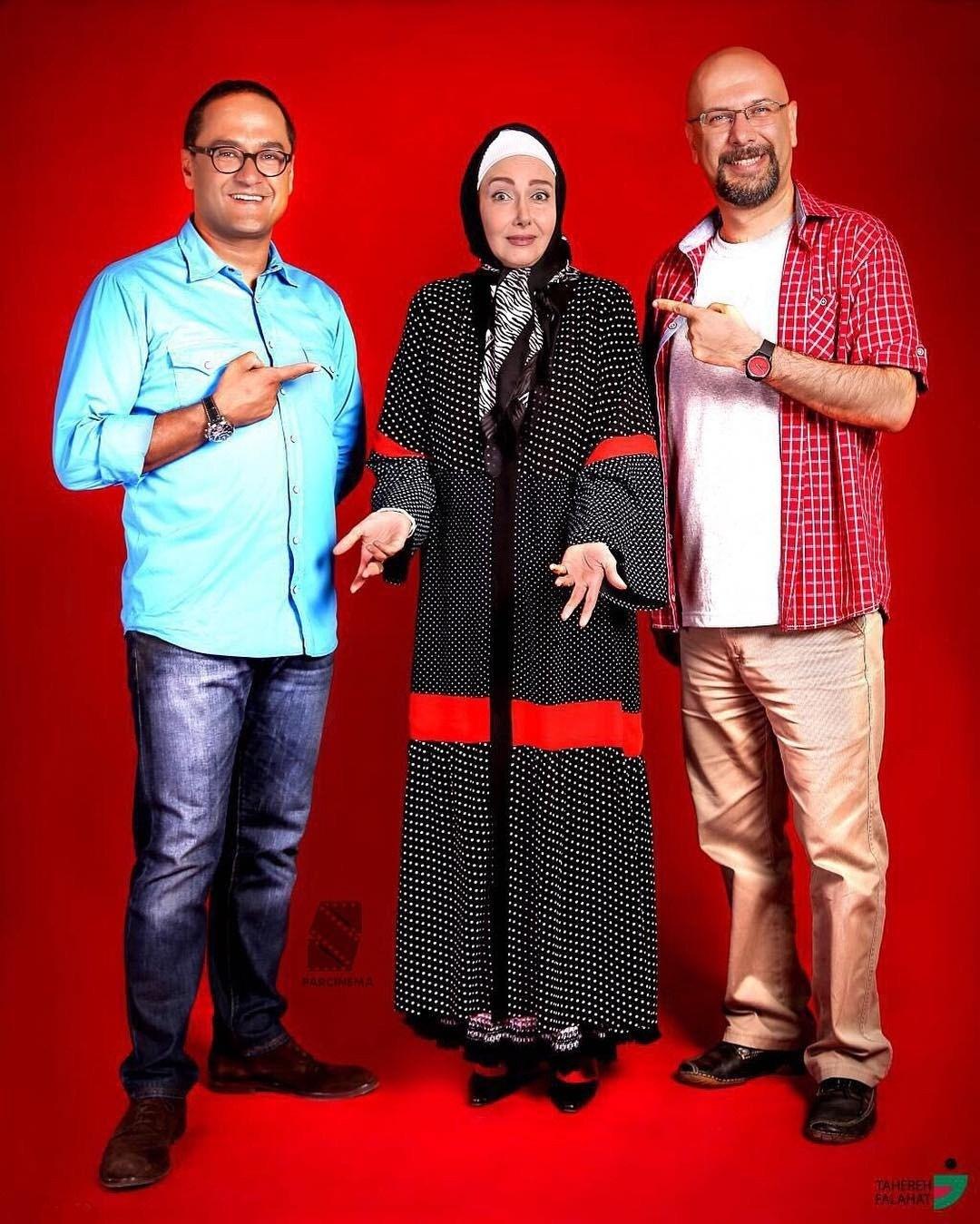 کتایون ریاحی ، محمد بحرانی و رامبد جوان