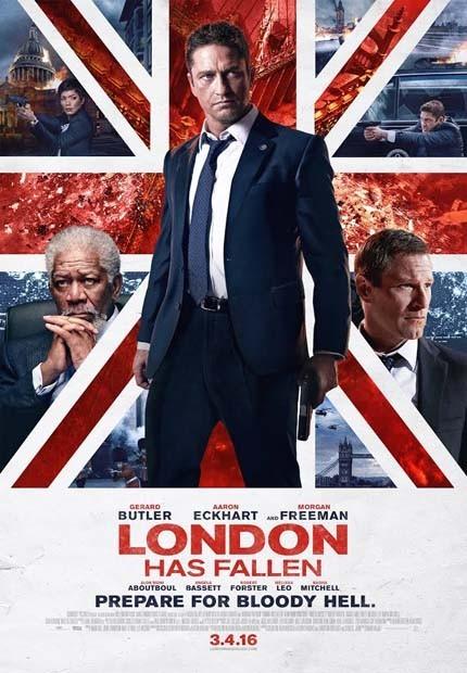 دانلود رایگان دوبله فارسی فیلم London Has Fallen 2016