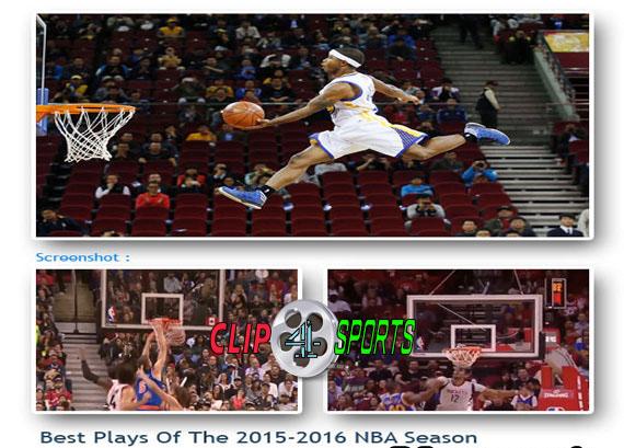 دانلود کلیپ بهترین لحظات لیگ حرفه ای NBA در فصل ۲۰۱۵-۲۰۱۶