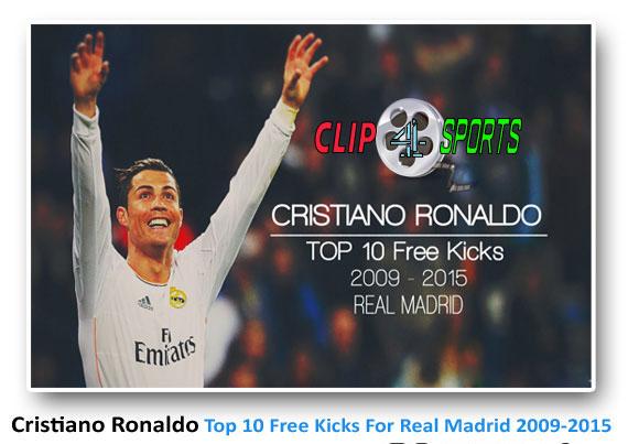 دانلود کلیپ ۱۰ ضربه ایستگاهی برتر کریستیانو رونالدو در رئال مادرید