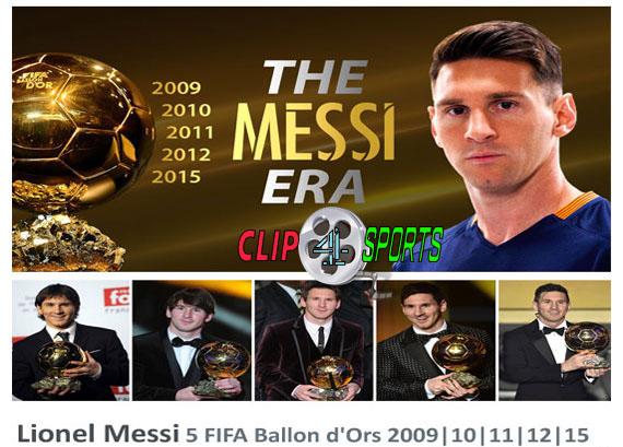 دانلود کلیپ عصر لیونل مسی ۲۰۱۵ The Messi Era