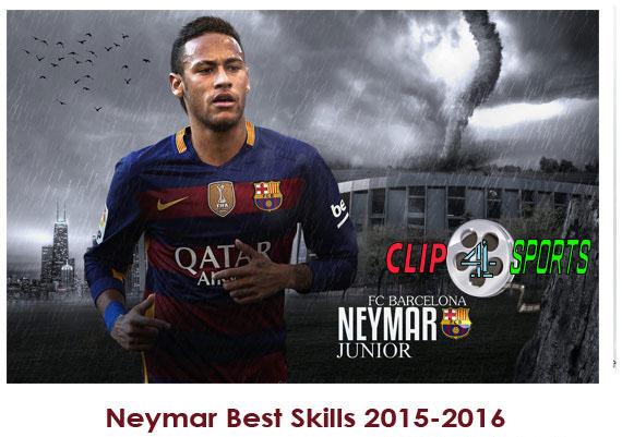 دانلود کلیپ حرکات نیمار در فصل ۲۰۱۵-۲۰۱۶ Neymar Best Skills