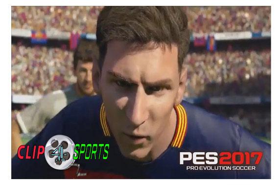 دانلود جدیدترین تریلر بازی PES 2017