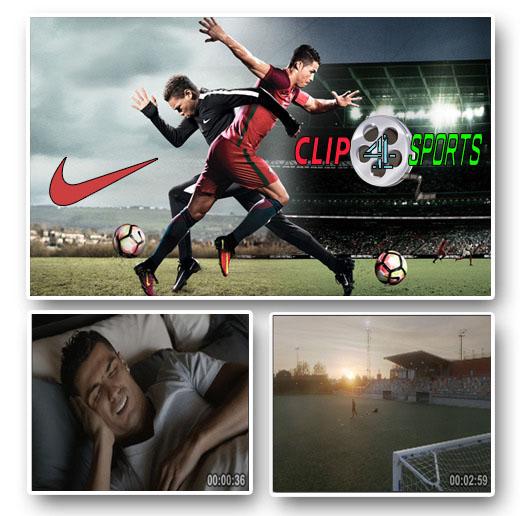 دانلود کلیپ تبلیغاتی جدید کریستیانو رونالدو محصول شرکت نایکی