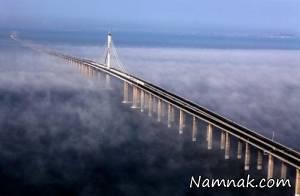 ساخت طولانی ترین پل دریایی جهان در چین
