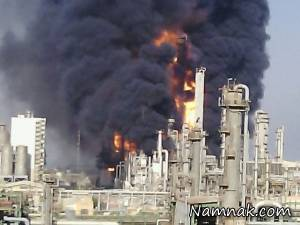مهار کامل آتش سوزی پتروشیمی بوعلی سینا ماهشهر