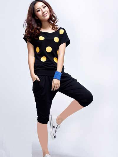 مدل لباس اسپورت دخترانه
