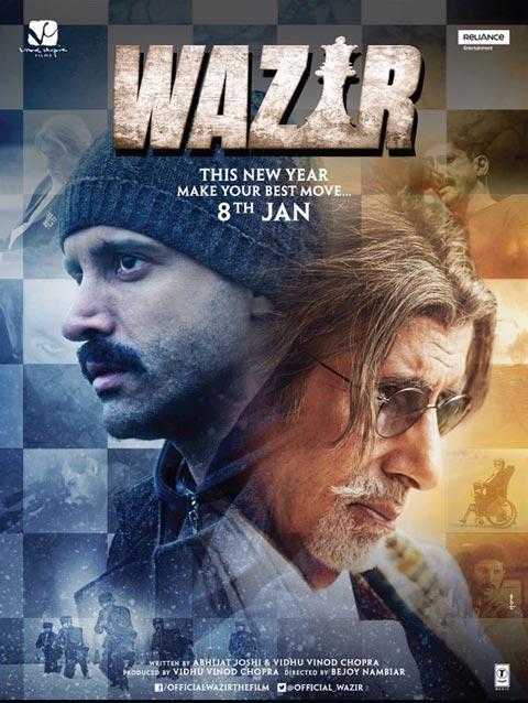 دانلود رایگان فیلم Wazir 2016