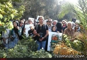 """چهره ها در مراسم تشییع """"عباس کیارستمی"""" + تصاویر"""