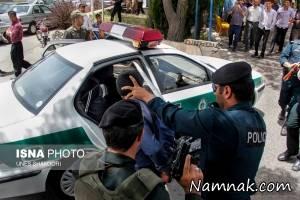 دستگیری دزدان بانک ملی تنکابن