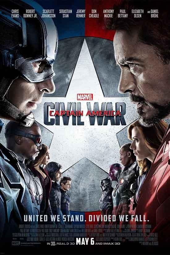 دانلود رایگان دوبله فارسی فیلم Captain America: Civil War 2016