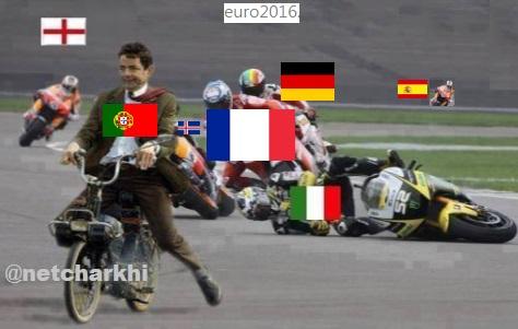 ترول قهرمانی پرتغال در یورو2016