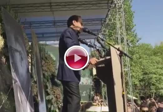 کلیپ: سخنرانی جنجالی اصغر فرهادی در مراسم عباس