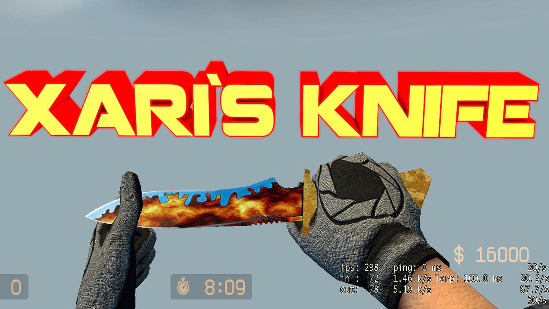 دانلود اسکین INZEYN Knife skin re-texture  برای کانتر سورس