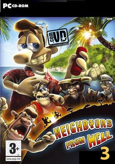 دانلود بازی همسایه جهنمی 3 - Neighbours From Hell 3