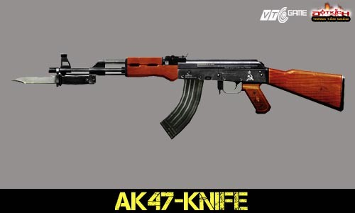 دانلود اسکین Ak47 | CF Ak47 -Knife برای کانتر سورس