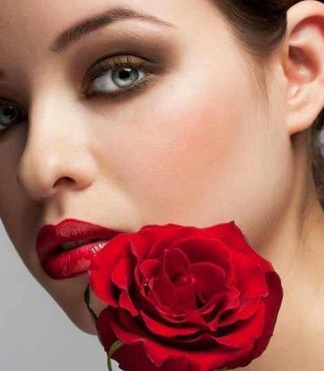 زیبا ترین آرایش صورت زنانه