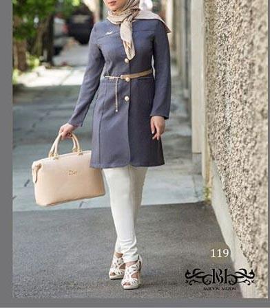 مدل مانتو اسپرت تابستانه 2016