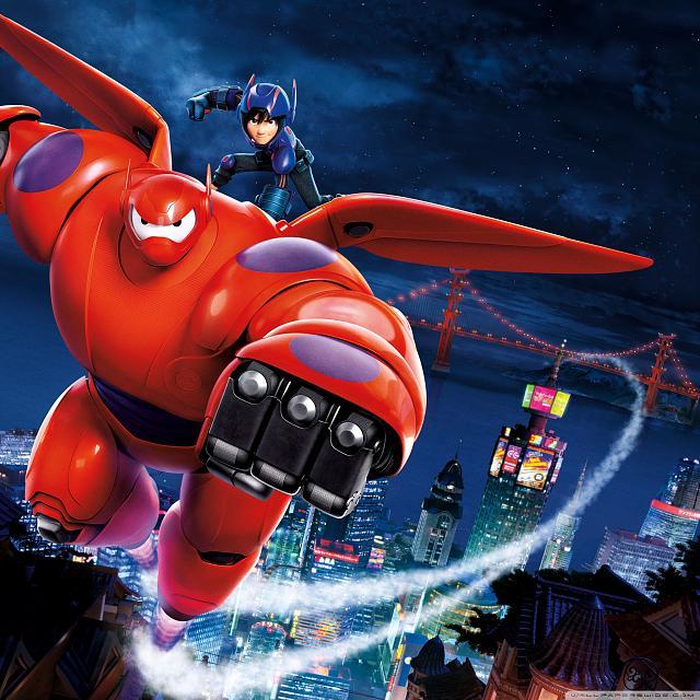 دانلود انیمیشن 6 قهرمان بزرگ بهمراه دوبله فارسی - Big Hero 6