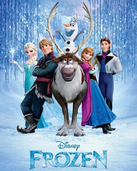 دانلود انیمیشن Frozen بهمراه دوبله فارسی