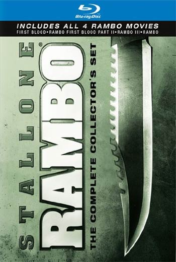 دانلود کالکشن فیلم های رامبو Rambo Collection 1982-2008