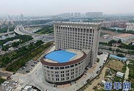 دانشگاهی در چین که شبیه توالت فرنگی است