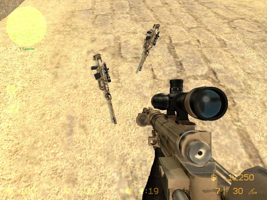 دانلود اسکین  Awp | CheyTac M200 Desert