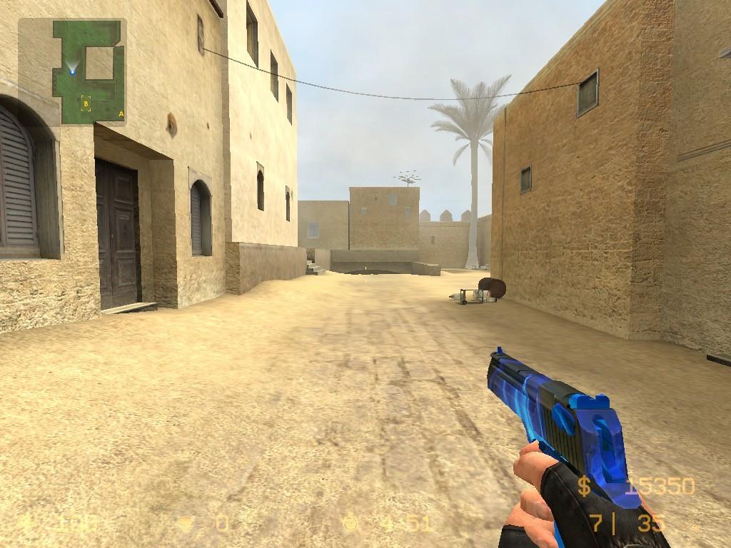 دانلود اسکین Desert | Blue برای کانتر سورس