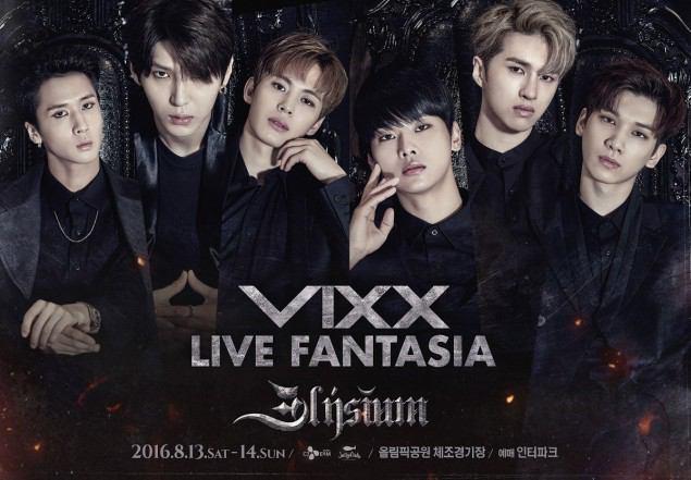 عکس های جدید گروه کره ای ویکس vixx برای سومین سولو کنسرتشون