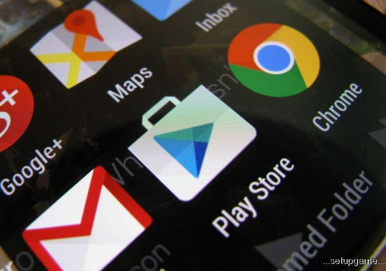 کاهش حجم آپدیت های گوگل پلی