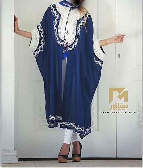 مدل مانتو گشاد وشیک دخترانه