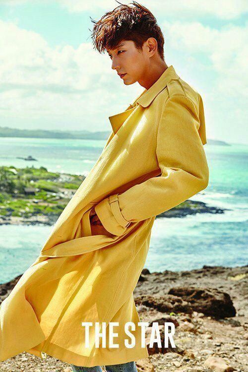 عکس های جدید و جذاب بازیگر و خواننده کره ای لی جون کی Lee jun ki برای مجله the star