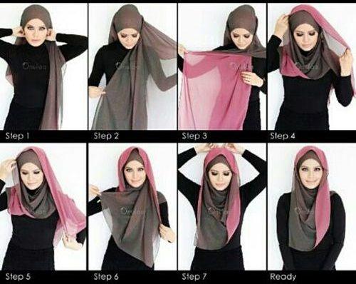 آموزش بستن شال و روسری همراه با عکس