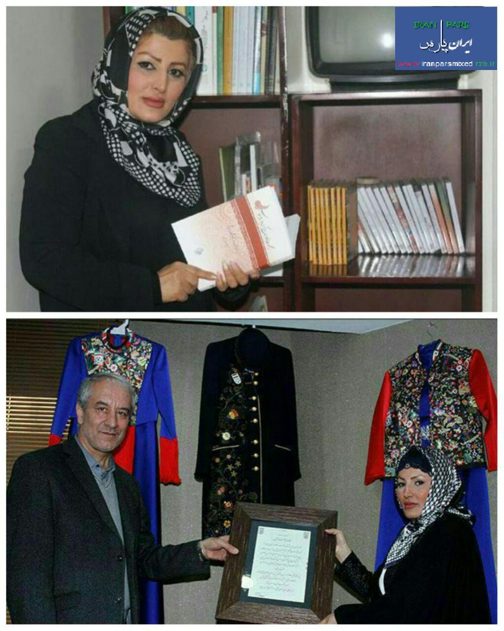 گفت و گوی کوتاه مهناز آرمین طراح لباس کاروان المپیک ایران