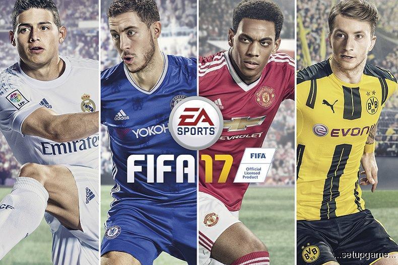 مارکوس رویس به عنوان تصویر روی جلد بازی FIFA 17 انتخاب شد