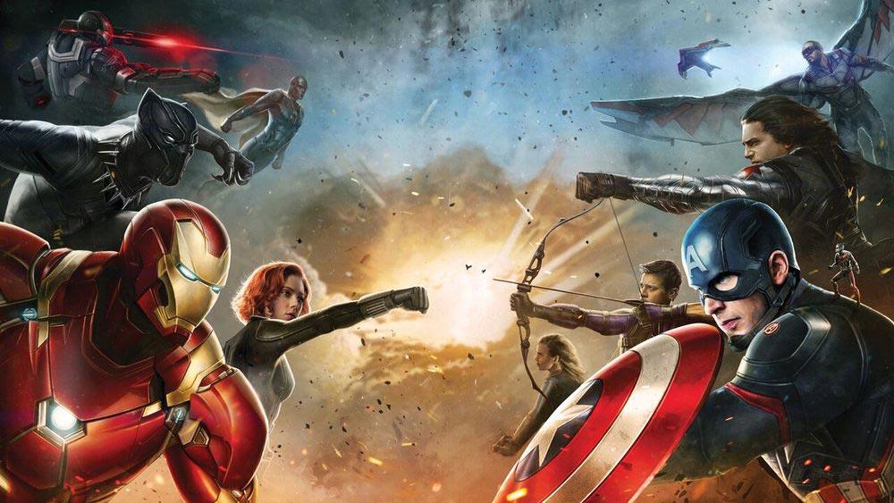 دانلود فیلم Captain America 3 Civil War 2016 دوبله فارسی